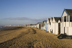 Thorpe Bay Sea Front, near Southend- on-Sea, Essex, England Royalty Free Stock Photos