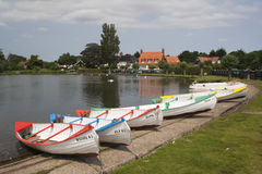 Thorpeness 'Meare', Suffolk, Engeland Stock Afbeelding