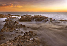 Thors Well at Oregon Coast Royalty Free Stock Photography