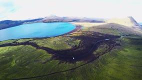 Thorsmork in Iceland beside the famous volcano Eyjafjallajokull