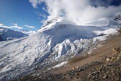 Thorung La, Annapurna, Nepal. Thorung La pass in the around Annapurna trek in Nepal Stock Photography