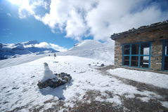 Thorung La, Annapurna, Nepal Royalty Free Stock Photo