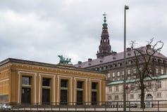Thorvaldsen muzeum, Kopenhaga obraz stock