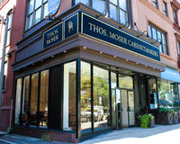 Thos. Moser Cabinetmakers, Boston, MA. Stock Photography