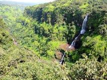 Thoseghar-Wasserfall Stockbilder