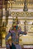 Thotsakan in The Royal Khon, Ramakien Royalty Free Stock Images