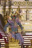 Thotsakan in The Royal Khon, Ramakien Royalty Free Stock Photography