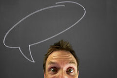 Thought bubbles Stock Images