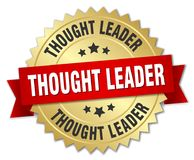 thought leader badge Royalty Free Stock Photography