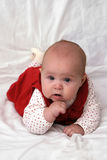 Thoughtful baby Royalty Free Stock Photos