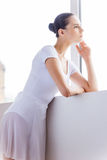 Thoughtful ballerina. Stock Images