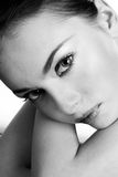 Thoughtful beauty Stock Photography