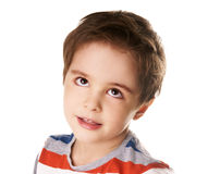 Thoughtful boy Royalty Free Stock Images