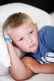 Thoughtful boy Stock Image