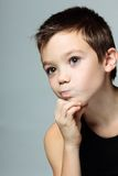 Thoughtful boy Stock Photography