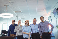 Thoughtful business colleagues lookinga way royalty free stock photos