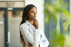 Free Thoughtful Business Executive Royalty Free Stock Images - 52849729