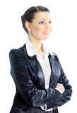 Thoughtful business woman Royalty Free Stock Photography