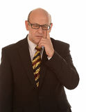 Thoughtful businessman Royalty Free Stock Photography