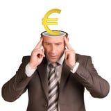 Thoughtful businessman Stock Photos