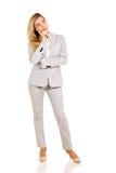 Thoughtful businesswoman Stock Photos