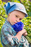 Thoughtful child Stock Photography
