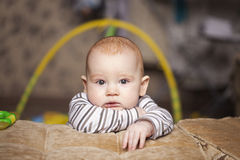 Thoughtful child Royalty Free Stock Image