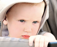 Thoughtful kid Royalty Free Stock Images