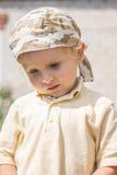 Thoughtful little boy Royalty Free Stock Photo
