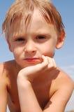 Thoughtful look Stock Photos