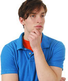 Thoughtful Man Royalty Free Stock Photography