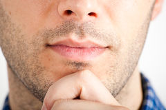 Thoughtful man Royalty Free Stock Images