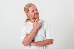 Thoughtful man Stock Photos