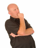 Thoughtful middle aged man Royalty Free Stock Image