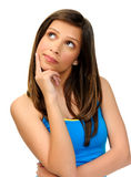 Thoughtful pose Stock Photography
