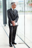 Thoughtful senior businessman Royalty Free Stock Photography