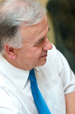 Thoughtful senior man royalty free stock photography