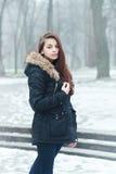 Thoughtful teen girl Royalty Free Stock Photos