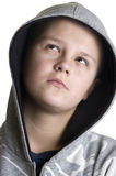 Thoughtful teenage boy Royalty Free Stock Photos