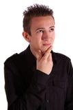 Thoughtful teenager Stock Photo