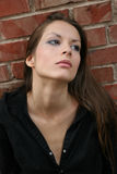 Thoughtful woman Royalty Free Stock Photo