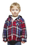 Thoughtful young boy Royalty Free Stock Image