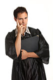 Thoughtful Young Male College Graduate Stock Photos