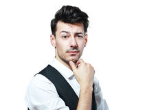 Free Thoughtful Young Man Royalty Free Stock Photo - 68362305