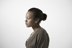 Thoughtful Young Woman Royalty Free Stock Photography