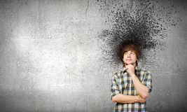 Thoughts in my head Royalty Free Stock Images