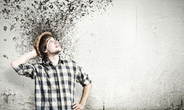 Thoughts in my head Royalty Free Stock Photo