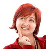 Thougthful woman Stock Photography