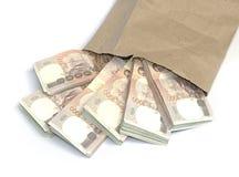 Thousand baht banknotes Stock Image