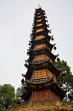Thousand Buddha Pagoda Royalty Free Stock Photos